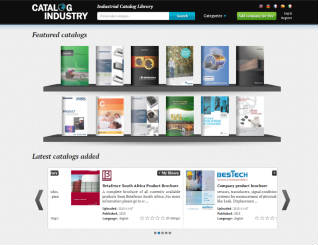 Web application to store and visualize thousands of industrial catalogs in PDF format